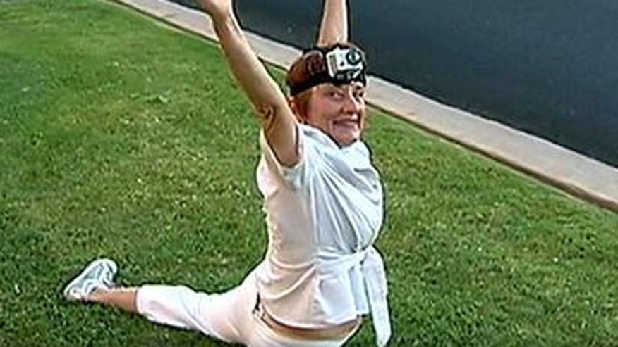 Sixty-five-year-old Dianne Barker has been banned from doing cartwheels at meetings held by the Maricopa Association of Governments.