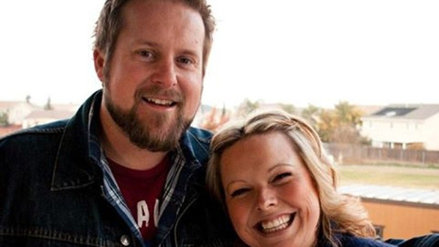 Robert Cox, a 35-year-old California pastor, is pictured here with his wife, Julia.