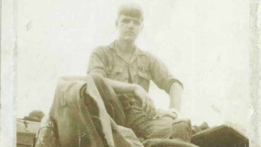 Morrow, of Ozona, Texas, is photographed here on top of a U.S. military tank in Vietnam in 1967.
