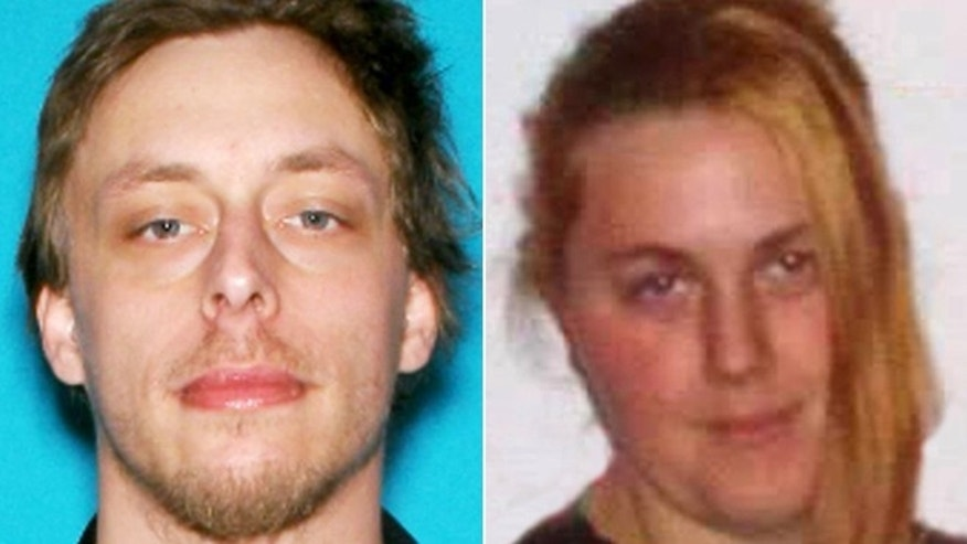 These undated photos provided by the Las Vegas Metropolitan Police Department show Jerad Miller and Amanda Miller.
