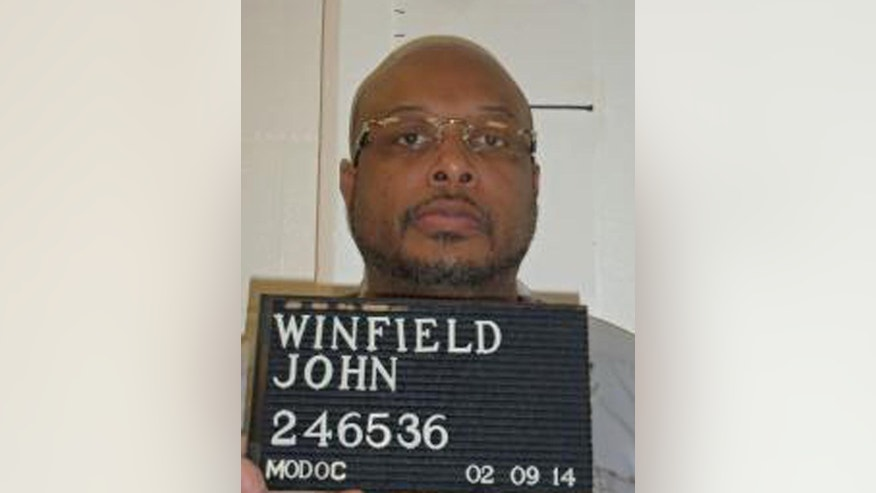 FILE - In this Feb. 9, 2014 file photo provided by the Missouri Department of Corrections is John E. Winfield. Winfield, was executed ten minutes after midnight Wednesday, June 18, 2014. He was one of three set to die this week as states move ahead with plans to carry out the death penalty.  (AP Photo/Missouri Department of Corrections, File)