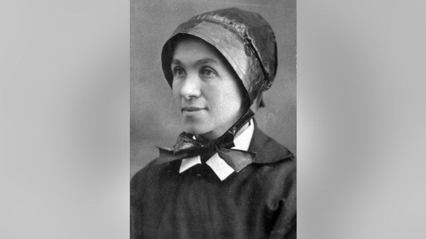 This undated photo provided by the Palace of the Governors shows Sister Blandina Segale, who co-founded the first hospitals and schools in New Mexico and reportedly challenged Billy the Kid. The Archdiocese of Santa Fe is exploring sainthood for the Italian-born nun for her work with the poor, immigrants and Hispanics and Native Americans during the frontier days. (AP Photo/Palace of the Governors)