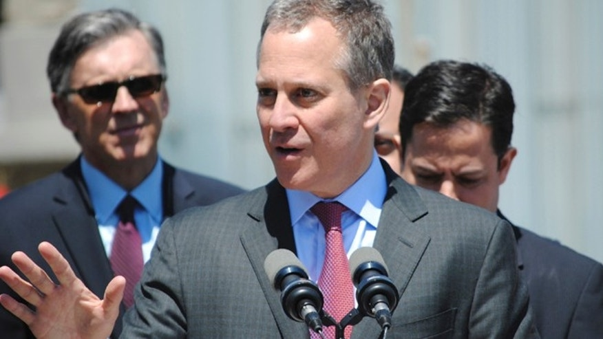 May 2, 2013: New York State Attorney General Eric T. Schneiderman announces that he is filing lawsuits against four service stations for violations of the New York State Price Gouging statute and has reached monetary settlements with 25 other service stations totaling $167,850 in New York.