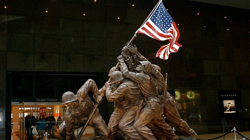 The Iwo Jima monument was rescued from obscurity by Rodney Hilton Brown, a military historian.