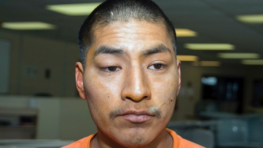 Jan. 30, 2014: Jacob Harvey, who is accused of attacking a state prison teacher in Florence, Ariz., is shown in this file photo.