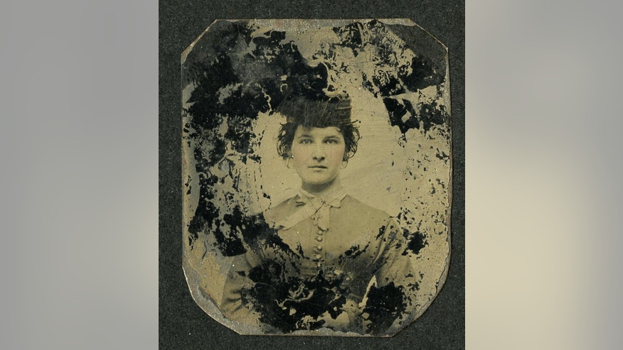 Mary O'Melia is seen in an undated photo provided by the American Civil War Museum. O'Melia served at the White House of the Confederacy in Richmond, Va.,as housekeeper for Jefferson Davis and his first lady, Varina Davis, and was a confidante of the first lady. The image of O'Melia is now in the possession of The American Civil War Museum in Richmond. A woman who says her late husband was related to O'Melia provided the museum with the photograph.  (AP Photo/American Civil War Museum) Wife of Confederate President Jefferson Davis. Loc: CS23-2, Box 7