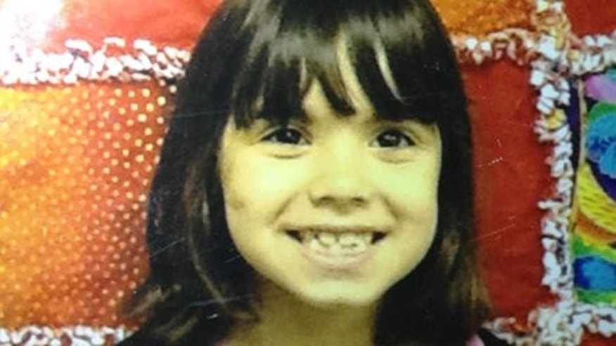 This undated photo, provided by the Kitsap County Sheriff's Office, shows 6-year-old Janice Paulette Wright.