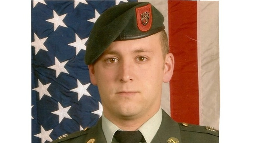SSG Travis Kent Hunsberger is pictured here in uniform in a photo provided by his family.