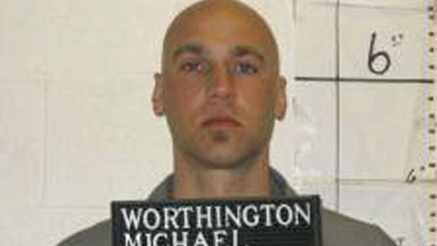 FILE - This April 4, 2007 file photo provided by the Missouri Department of Corrections shows Michael Worthington who is scheduled to die for killing a female neighbor in 1995. His execution would be the first since Joseph Rudolph Wood gasped for air in July, 2014, in Arizona during a lethal injection process that took nearly two hours to complete. (AP Photo/Missouri Department of Corrections, File)