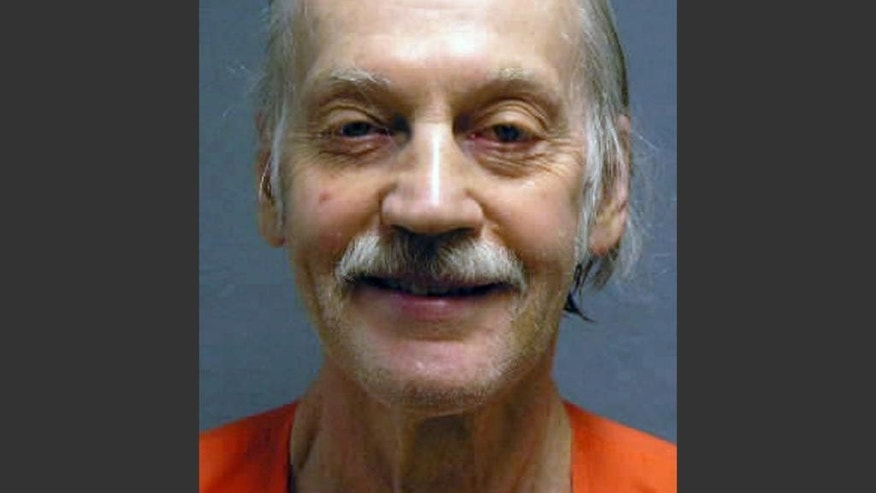 "This undated photo provided by the Montana Department of Corrections shows John Fesler Lance II. Lance, 73, who lost his western Montana ranch in a 1979 divorce and spent more than 20 years in prison for intimidating judges, attorneys and others involved in the case, was arrested Sept. 15, 2014 and is charged with threatening to kidnap the current owners and showing up at the property to ""take back the ranch,"" Ravalli County court records said. (AP Photo/Montana Department of Corrections)"