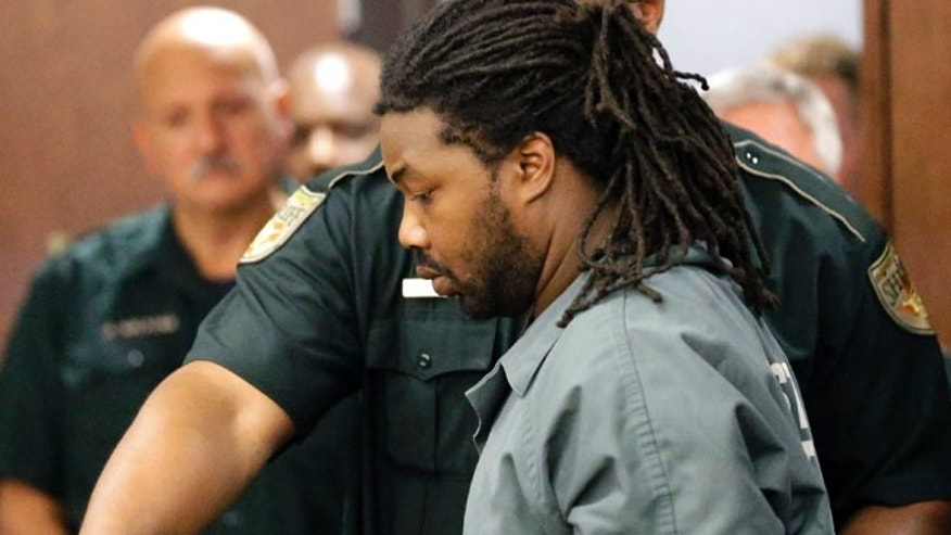 Sept. 25, 2014: Jesse Leroy Matthew Jr. is escorted into a courtroom for an appearance before 405th District Court Judge Michelle Slaughter regarding his extradition back to Virginia in Galveston, Texas.
