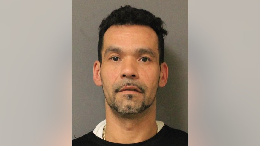 In this Tuesday, Sept. 30, 2014 photo provided by the New York State Police in Salt Point, N.Y., Gregory Rodriguez, of Ossining, N.Y. is shown. Rodriguez, an employee at the A&P supermarket in Croton-On-Hudson, N.Y., was arrested Tuesday for allegedly stealing $1,200 worth of meat from his employer by hiding it in his pants. A state police spokeswoman did not know if the theft involved more than one trip. (AP Photo/New York State Police)
