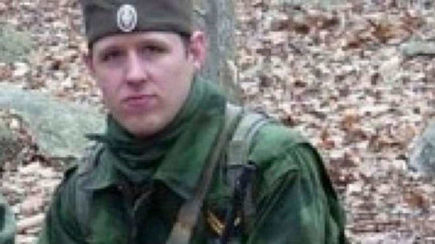 This undated file photo provided by the Pennsylvania State Police shows Eric Frein, who has eluded police, but is charged with killing one Pennsylvania State Trooper and seriously wounding another in a late night ambush. (AP/Pennsylvania State Police)