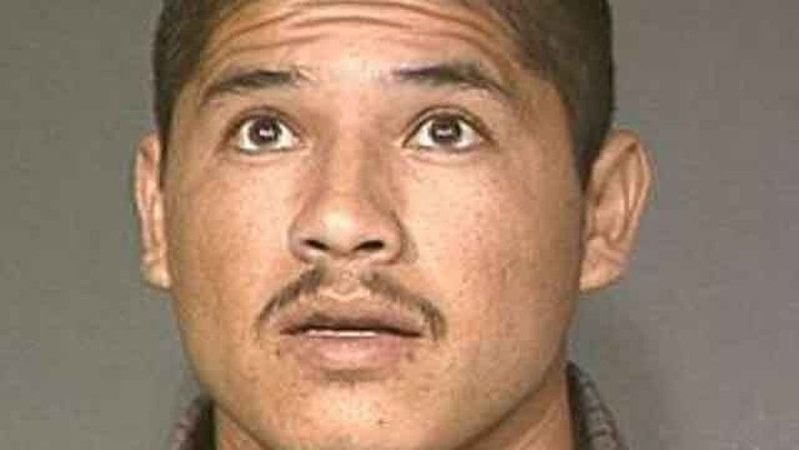 Luis Enrique Monroy-Bracamonte is seen in this undated photo provided by the Maricopa County Sheriff's Office. Monroy-Bracamonte is accused in a shooting rampage that left two sheriff's deputies in Northern California dead and a motorist seriously wounded. He was living in the United States illegally, had been convicted in Arizona for selling drugs and twice deported to Mexico. (AP Photo/Maricopa County Sheriff's Office)