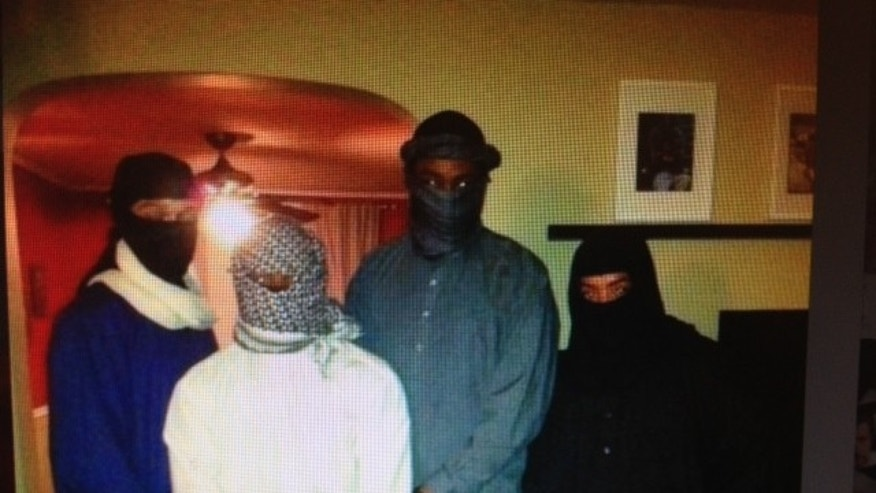 This Twitter photo, depicting ISIS Halloween costumes, has gone viral on the Internet.