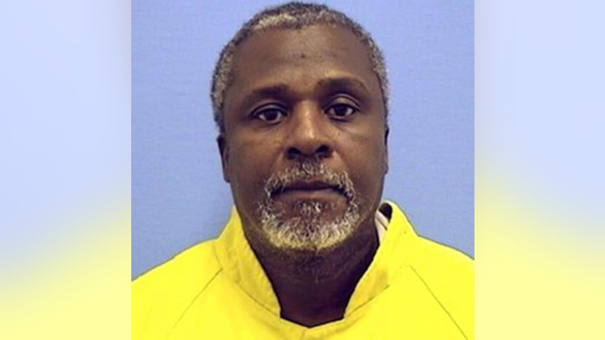 This undated photo provided by the Illinois Department of Corrections shows inmate Alstory Simon. On Thursday, Oct. 30, 2014, a Cook County judge ordered the release of Simon, whose confession helped free a death row inmate in a 1982 double killing. Simon's confession in the high-profile case led to the 1999 release of Anthony Porter, who had spent 16 years on death row and whose supporters maintained he was wrongfully convicted. (AP Photo/Illinois Department of Corrections)