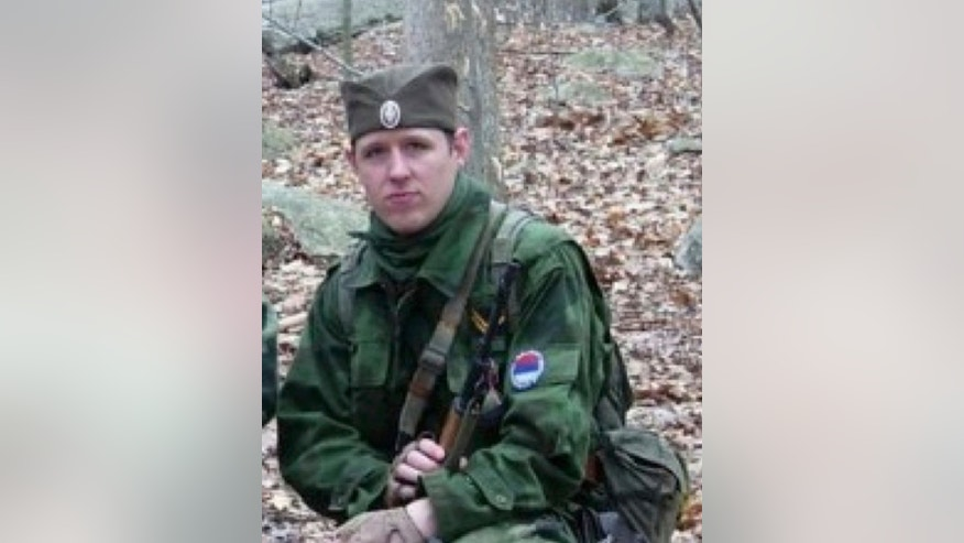 FILE - This undated file photo provided by the Pennsylvania State Police shows Eric Frein, who has eluded police, but is charged with killing one Pennsylvania State Trooper and seriously wounding another in a late night ambush. Authorities said Thursday, Oct. 30, 2014, that they have captured Frein. (AP Photo/Pennsylvania State Police)