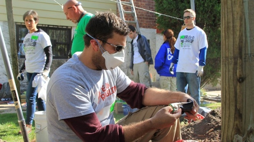 Team Rubicon members spent a recent October weekend helping out with home demolition and rebuilding projects in Far Rockaway, NY