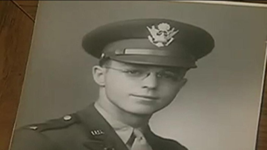 In this image taken from video shows an Army photo of Rupert Starr. A 92-year-old World War II veteran and ex-prisoner of war who is continuing his activism in support of military service members who, like him, are gay. (AP Photo/APTN)