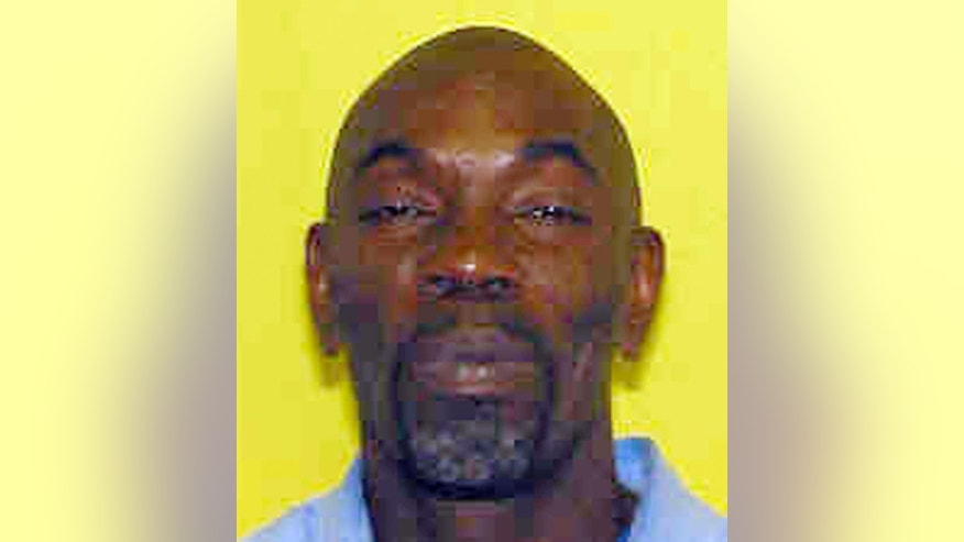 This undated photo provided by the Ohio Department of Rehabilitation and Correction shows Ricky Jackson, serving a life sentence for murder in the May 1975 killing of a money-order collector. Jackson is expected to be freed Friday, Nov. 21, 2014, after a witness confessed he lied as a boy when he told jurors he saw the deadly attack. (AP Photo/Ohio Department of Rehabilitation and Correction)