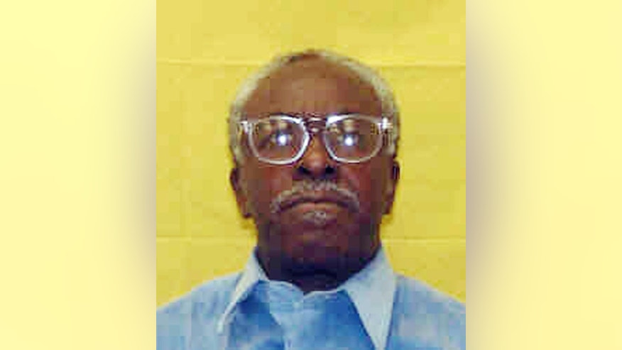 This photo provided by the Ohio Department of Rehabilitation and Corrections shows Wiley Bridgeman. The Cuyahoga County prosecutor's office has filed a motion dismissing aggravated murder cases against three men falsely accused of killing a businessman outside a corner store in Cleveland in 1975. Fifty-seven-year-old Ricky Jackson, 60-year-old Bridgeman and his brother, 57-year-old Ronnie Bridgeman, were sentenced to death during separate trials in 1975 for the slaying of Herman Franks. Their convictions were based solely on the testimony of a 13-year-old boy who in 2013 recanted and said he was coerced and threatened by Cleveland police detectives.(AP Photo/Ohio Department of Rehabilitation and Corrections)