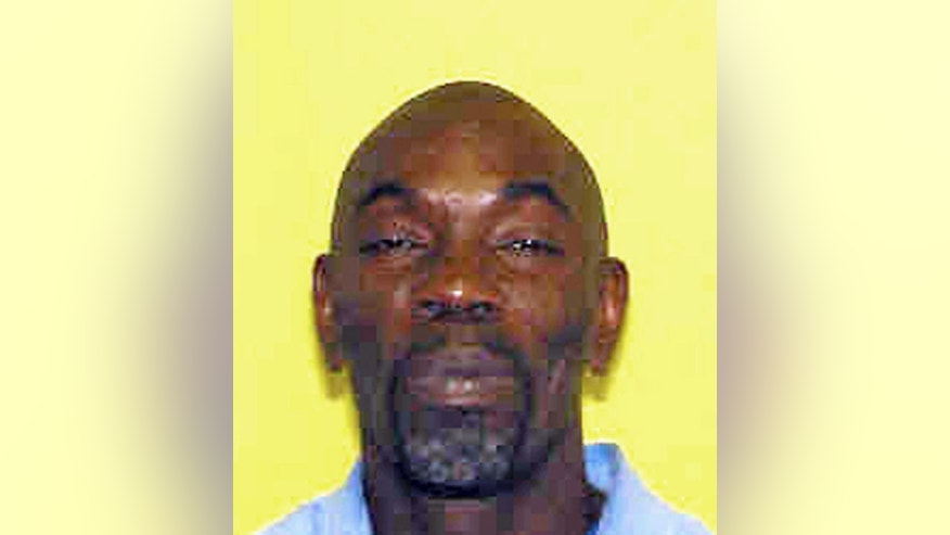 This photo provided by the Ohio Department of Rehabilitation and Corrections shows Ricky Jackson. The Cuyahoga County prosecutor's office has filed a motion dismissing aggravated murder cases against three men falsely accused of killing a businessman outside a corner store in Cleveland in 1975. Fifty-seven-year-old Jackson, 60-year-old Wiley Bridgeman and his brother, 57-year-old Ronnie Bridgeman, were sentenced to death during separate trials in 1975 for the slaying of Herman Franks. Their convictions were based solely on the testimony of a 13-year-old boy who in 2013 recanted and said he was coerced and threatened by Cleveland police detectives. (AP Photo/Ohio Department of Rehabilitation and Corrections)