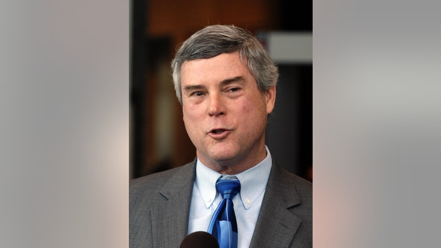 FILE - In this Feb. 10, 2011, file photo, St. Louis County Prosecuting Attorney Bob McCulloch speaks in St. Louis. Not much is normal about the Missouri grand jury responsible for deciding whether to charge a suburban St. Louis police officer for fatally shooting Michael Brown. Ferguson Police Officer Darren Wilson, who is white, shot the black unarmed 18-year-old shortly after noon on Aug. 9 in the center of a street, after some sort of scuffle occurred between them.  McCulloch hasn't publicly suggested any particular charge against Wilson. (AP Photo/Tom Gannam, File)