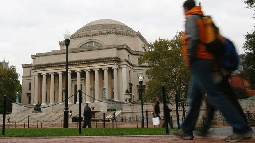 "FILE: A group of students at Columbia Law School who've had their faith in the ""integrity of the grand jury system"" after high-profile grand jury decisions are allowed to postpone their final exams so their performance would not suffer."