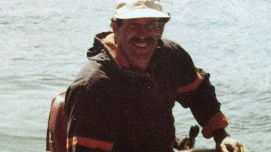 The Coast Guard says Ron Ingraham, seen in the 1980s, was weak, hungry and dehydrated when a Navy ship reached him drifting about 60 miles off Hawaii.