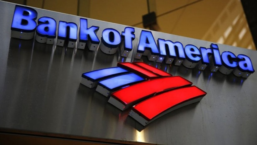 Jan. 14, 2014: Bank of America sign is photographed in Philadelphia