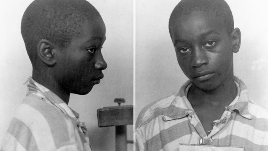This undated file photo provided by the South Carolina Department of Archives and History shows George Stinney Jr., the youngest person ever executed in South Carolina, in 1944.