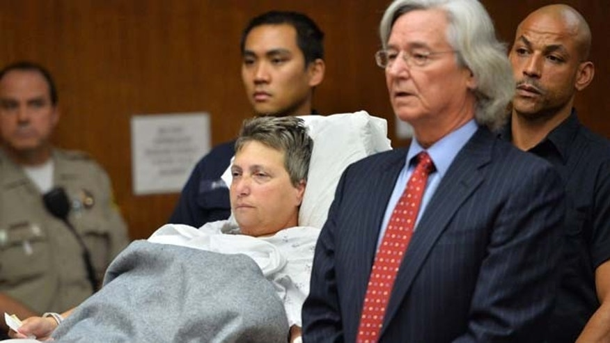 Dec. 19: Margo Bronstein appears in Torrance Superior Court flanked by her attorney Jeffrey Gray. Bronstein is charged with 4 counts of gross vehicular manslaughter. Five children and eight adults, including Bronstein and the driver of another car, suffered injuries such as broken bones, abrasions and head trauma in the crash Wednesday after a student Christmas concert at St. James Catholic Church in Redondo Beach, police said.