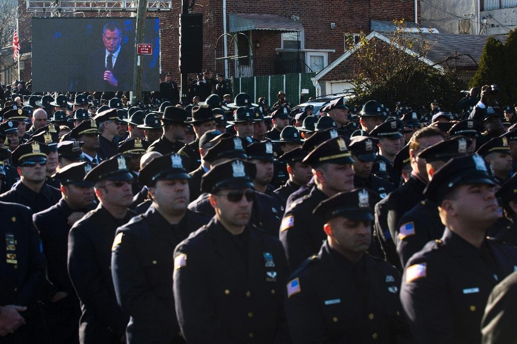 NYC police boss: More dialogue, less rhetoric needed to reduce tension between police, public