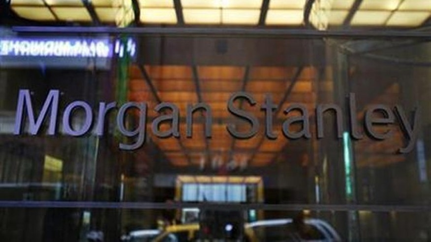 The entrance to Morgan Stanley headquarters in New York (Reuters/File)