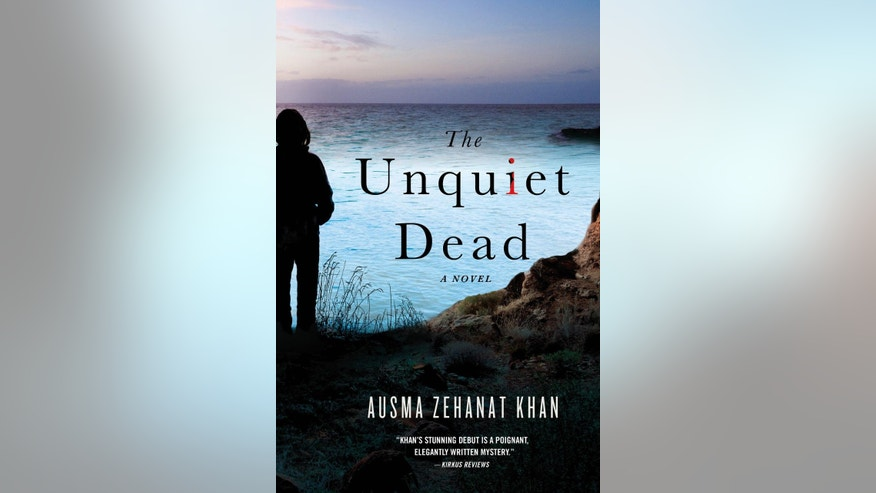 "This photo provided by courtesy of Minotaur Books shows the book cover of ""The Unquiet Dead,"" by Ausma Zehanat Khan. (AP Photo/Minotaur Books)"