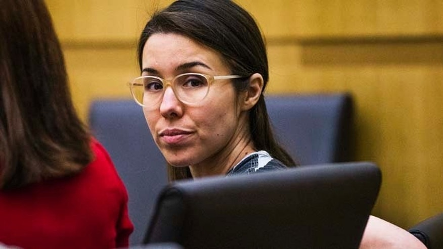 Jan. 9: Jodi Arias sits during her sentencing phase retrial in Maricopa County Superior Court in Phoenix.  Officials have released transcripts of closed-door testimony given two months ago by Arias during her sentencing retrial.