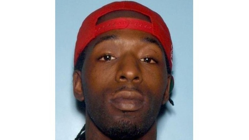 This image shows Donquaz Stevenson, 24, who police say attempted to rob a Papa John's pizza delivery woman at gunpoint.