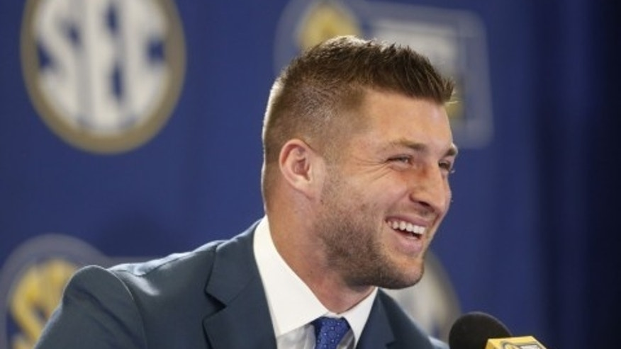 Tebow, one of the greatest college football players of all time, is behind the special night for special needs guests. (AP)