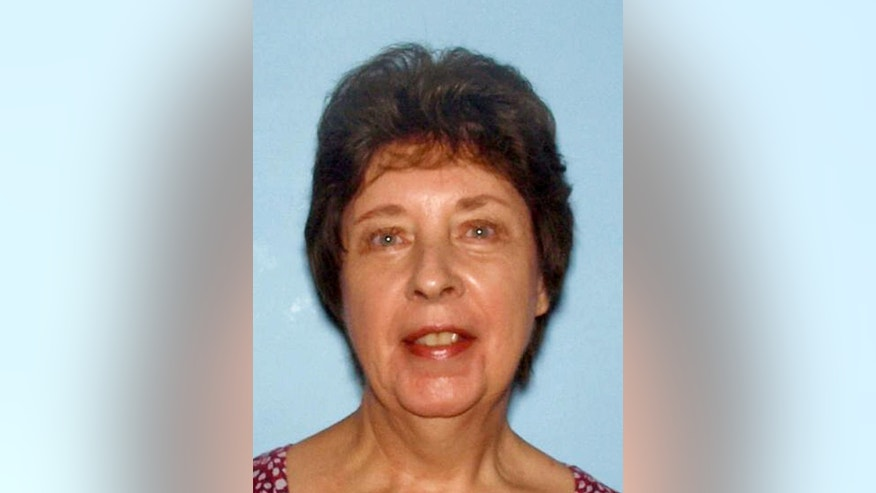 "This photo provided Monday, Jan. 26, 2015, by the Cobb County Police Department, shows June Runion, of Marietta, Ga. Runion, 66, and her husband Elrey ""Bud"" Runion, 69, are missing after driving across the state to check out a classic car advertised on Craigslist, and police say the man who last had phone contact with them faces charges. Investigators have obtained warrants for 28-year-old Ronnie Adrian ""Jay"" Towns on charges of giving false statements and criminal attempt to commit theft by deception. Towns hasn't been accused of harming the couple. (AP Photo/Courtesy of the Cobb County Police Department)"