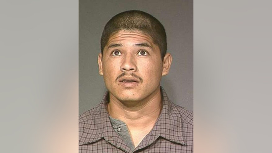 "FILE - This undated photo provided by the Maricopa County Sheriff's Office shows Luis Enrique Monroy Bracamontes. Bracamontes is accused in a shooting rampage that left two sheriff's deputies in Northern California dead and a motorist seriously wounded.  Bracamontes said that ""I did kill those cops"" and asked to be executed ""whenever you're ready,"" during an appearance in a Sacramento Superior Court, Wednesday Feb. 4, 2015. (AP Photo/Maricopa County Sheriff's Office)"