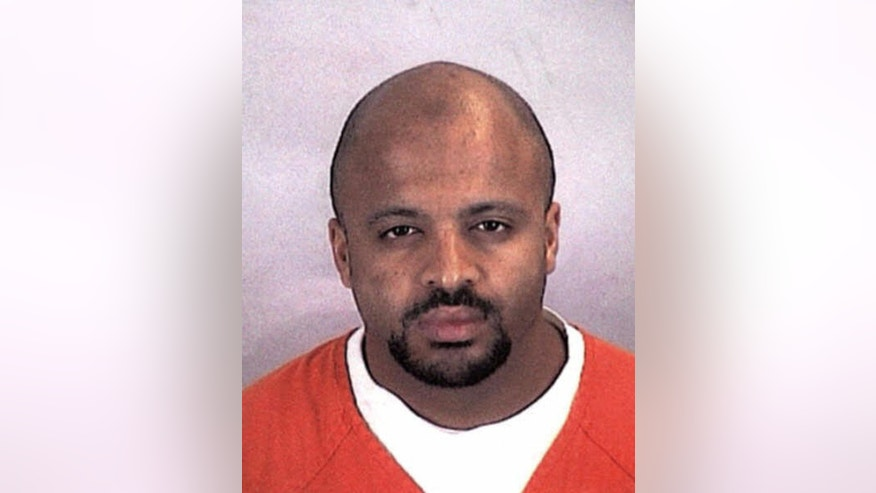 "FILE - In this undated file photo provided by the Sherburne County Sheriff Office, Zacarias Moussaoui is shown. Lawyers for victims of the Sept. 11 attacks say in a lawsuit that they have amassed new evidence that agents of Saudi Arabia ""knowingly and directly"" helped the hijackers. They say they have obtained sworn testimony from Moussaoui, the so-called 20th hijacker to support their claims. The Embassy of Saudi Arabia in Washington said in a statement Wednesday, Feb. 4, 2015, that Moussaoui's claims come from a ""deranged criminal"" and there is no evidence to support them.(AP Photo/Sherburne County, Minn., Sheriff's Office, File)"
