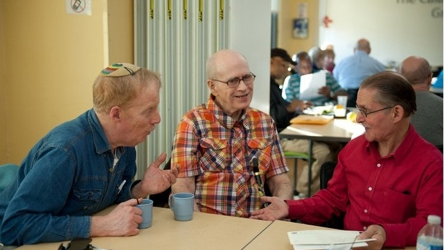 Straight seniors can also use the centers, but the facilities cater to the city's estimated 100,000 LGBT seniors. (Photo by Liz Clayman)