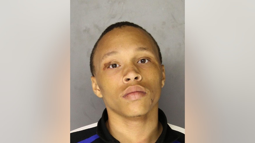 Tarod Thornhill is seen in an undated photo provided by the Allegheny County Police Department. Thornhill, 17,was arrested early Sunday, Feb. 8, 2015, at a residence in Brackenridge, Pa., and charged as an adult with aggravated assault, attempted homicide, and recklessly endangering other people in a Saturday shooting at a Pittsburgh-area mall. Police Chief Douglas Cole said two men and a woman were shot, including the man who was targeted. He said the two men were in critical condition, while the woman was in stable condition. (AP Photo/Allegheny County Police Department)