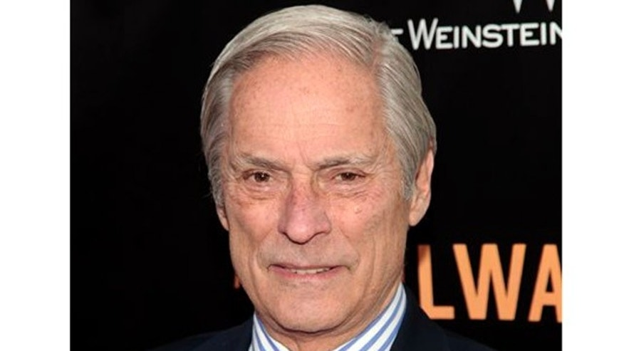 "In this April 7, 2014 file photo, Bob Simon of ""60 Minutes"" attends the New York premiere of ""The Railway Man"" in New York. CBS says Simon was killed in a car crash on Wednesday, Feb. 11, 2015, in Manhattan."