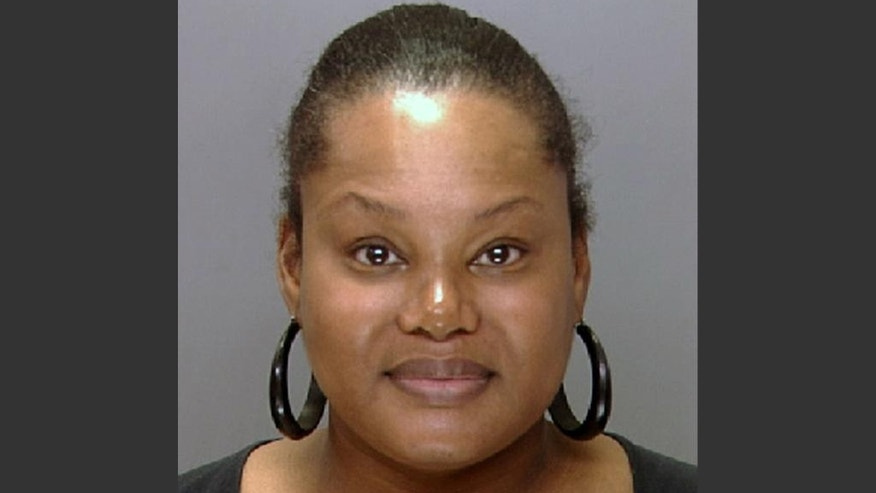 "FILE - This undated file photo provided by the Philadelphia Police Department shows Padge Gordon, also known as Padge Victoria Windslowe. The former madam who bragged of doing black-market ""body sculpting"" on thousands of women was convicted of murder Monday, March 9, 2015, in the death of a dancer whose heart stopped after nearly half a gallon of silicone was injected into her buttocks. (AP Photo/Philadelphia Police Department, File)"