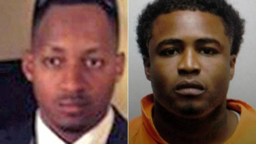 From the left, U.S. Marshal Josie Wells died in a shootout Tuesday morning at a north Baton Rouge motel attempting to arrest Jamie D. Croom who died later at a hospital.