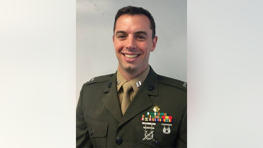 This image provided by the U.S. Marine Corps shows an undated photo of Capt. Stanford H. Shaw III, 31 from Basking Ridge, New Jersey. Friday, March 13, 2015, military officials released the names of the Marines killed. All were from the 2nd Special Operations Battalion of the Marine Corps Special Operations Command, or MARSOC, at Camp Lejeune. Capt. Shaw was one of the seven Marines killed when the Black Hawk helicopter crashed in dense fog during a training mission in Florida. (AP Photo/US Marine Corps)