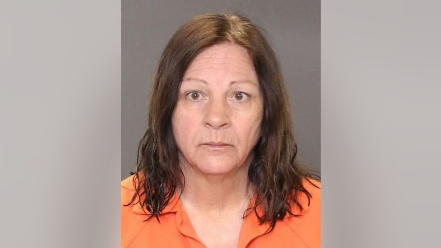 In this undated photo provided by the Burlington County Prosecutor's Office, Jo Crosby, 67, of Sicklerville, N.J. is shown. Crosby's 28-year-old son, Kyle, is charged with murder in the death of his 26-year-old wife, Erica Crippen. Jo Crosby allegedly assisted her son in disposing of Crippen's body. Crosby was arrested Monday, Narch 16, 2015, morning at her Sicklerville home and charged with hindering apprehension and tampering with physical evidence by destroying records. (AP Photo/Burlington County Prosecutor's Office)