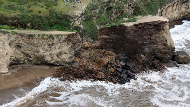 Hiker killed after cliff collapses along northern California trail