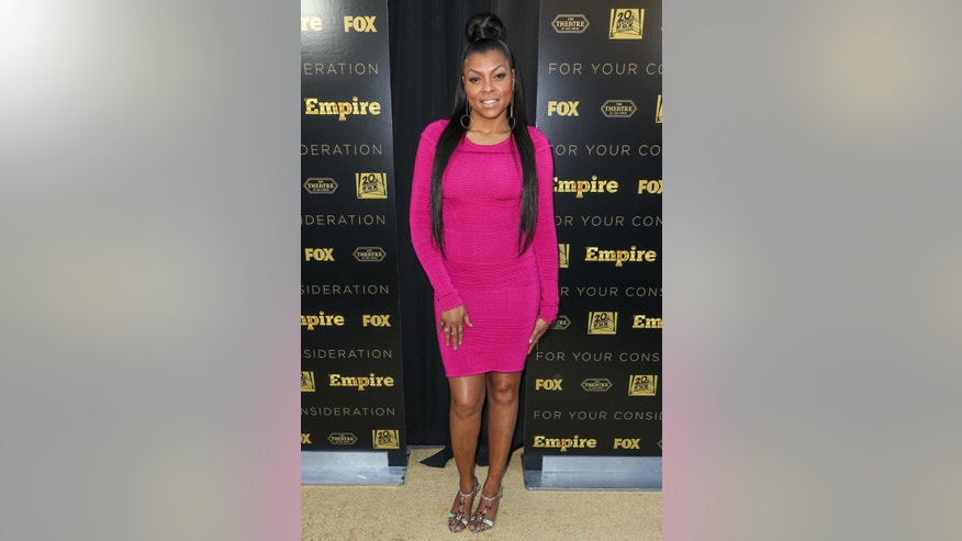 "FILE - In this Thursday, March 12, 2015 file photo, Taraji P. Henson attends the LA Academy Screening of ""Empire"" at the Theater at the Ace Hotel, in Los Angeles. Henson says her 20-year-old son is transferring to Howard University after being racially profiled by police at the University of Southern California. The ""Empire"" star made the comments in the latest issue of Uptown magazine, which features her on the cover. (Photo by Paul A. Hebert/Invision/AP, File)"